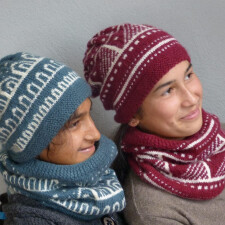 kumoauni hat and cowl